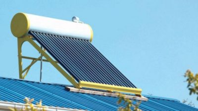 Monzó propone financiamiento para la compra de termotanques solares