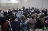 """Insaurralde se puso el traje de conductor en Salto """"debemos representar a la mayoría que este gobierno excluye"""""""