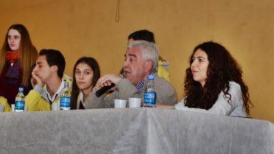 Corvatta y Merquel participaron del II Foro Juvenil en Pigüe