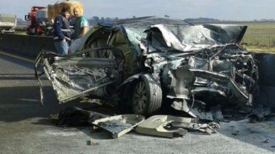 Olavarría/ La senadora Carolina Szelagowski sufrió un grave accidente