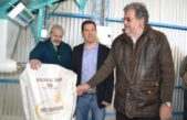 Miramar / Di Cesare inauguró el flamante molino harinero de Mechongué