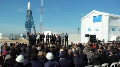 """""""Este proyecto no es ciencia ficción"""", dijo Macri en el Polo Espacial de Punta Indio"""