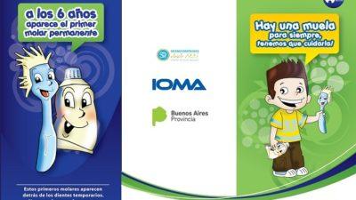 IOMA brindará atención odontológica gratis para niños de 5 a 8 años