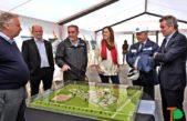 """Vidal en B. Blanca: """"Los trabajadores de ABSA con recursos pueden competir con cualquier compañía"""""""