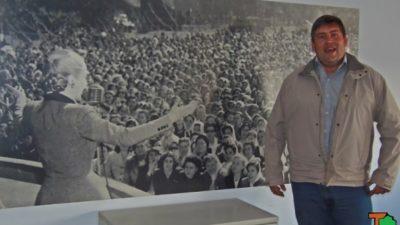"""Alfonso: """"La figura de Perón y de Yrigoyen seguirán vigentes por muchos años más"""""""