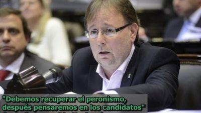 """Romero: """"tenemos que reconstruir el peronismo, las candidaturas quedan para lo último"""""""
