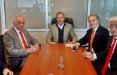 Solá se reunió con Pymes por el proyecto para reducir comisiones bancarias a tarjetas de créditos