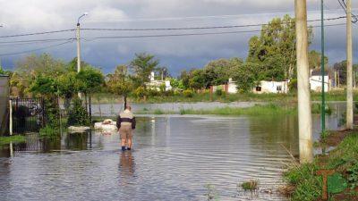 General Villegas sufre la falta de obras hidráulicas que nación y provincia no hicieron desde hace años