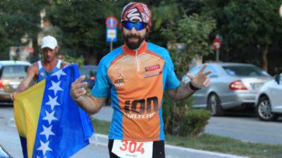 El #ForrestGumpArgentino: De Los Toldos llegó a unir corriendo Atenas con Sparta en Grecia