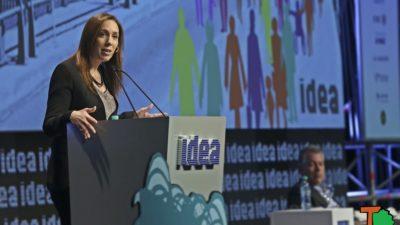 """Vidal en IDEA a los empresarios: """"trabajemos para superar las condiciones estructurales de pobreza"""""""