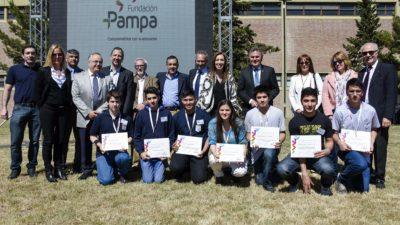 B. Blanca / Vidal puso en marcha la obra del parque eólico Pampa I