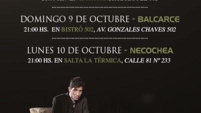 Martín Di Paola con su show de ilusionismo recorrerá Tandil, Balcarce y Necochea