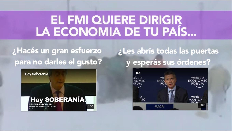 En el aniversario de la muerte de Kirchner ¡mirá el video! interactivo entre Néstor y Mauricio