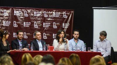 Ortiz juntó a referentes de municipios del conurbano a un encuentro de Violencia de Género