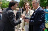 Barroso recibió de manos del presidente Macri y de la gobernadora Vidal una nueva ambulancia para 9 de julio