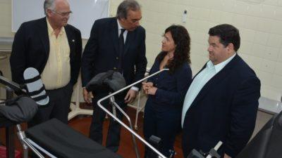 Berisso / Ortiz y Nedela inauguraron las obras de remodelación del hospital Larrain