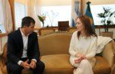 """Bucca se reunió con Vidal y destacó la """"cercanía"""" del gobierno provincial con los municipios"""