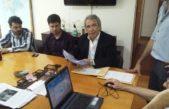 Colón: Casi se reunió con la Cámara de Comercio que instalará un Provincia NET
