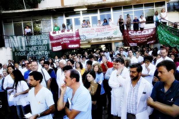 La CICOP inició un nuevo paro por 48 horas en los 80 hospitales bonaerenses