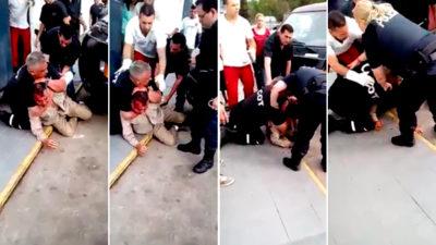 Tigre / El agente del COT que golpeó salvajemente a un trabajador tiene antecedentes por tres casos de gatillo fácil