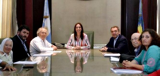"""En reunión con Pérez Esquivel, Vidal prometió un """"reforma estructural"""" del Servicio Penitenciario"""