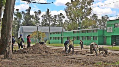 Ensenada / Continúa la construcción del parque del bicentenario