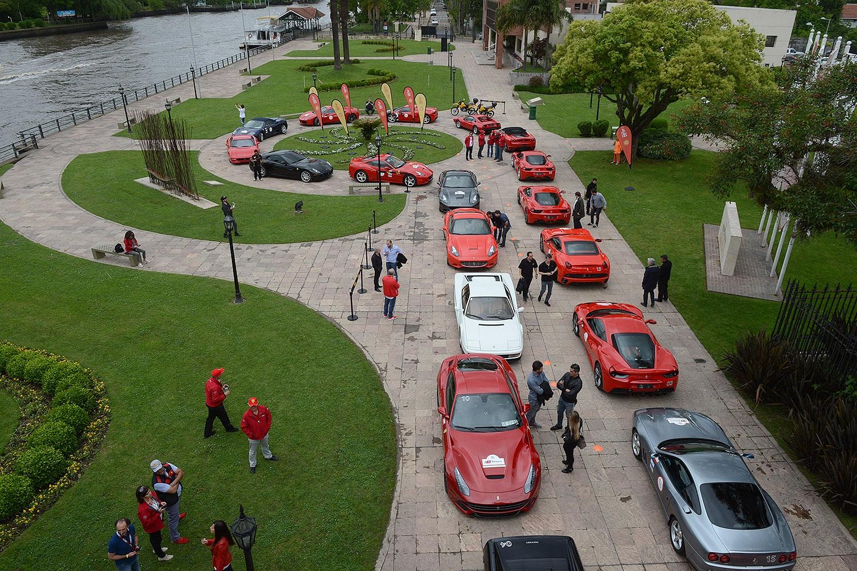 Ferrari eligió Tigre para realizar el primer encuentro de clubes sudamericanos