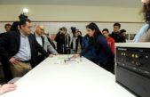 Balcarce / Finocchiaro inauguró dos laboratorios de última tecnología