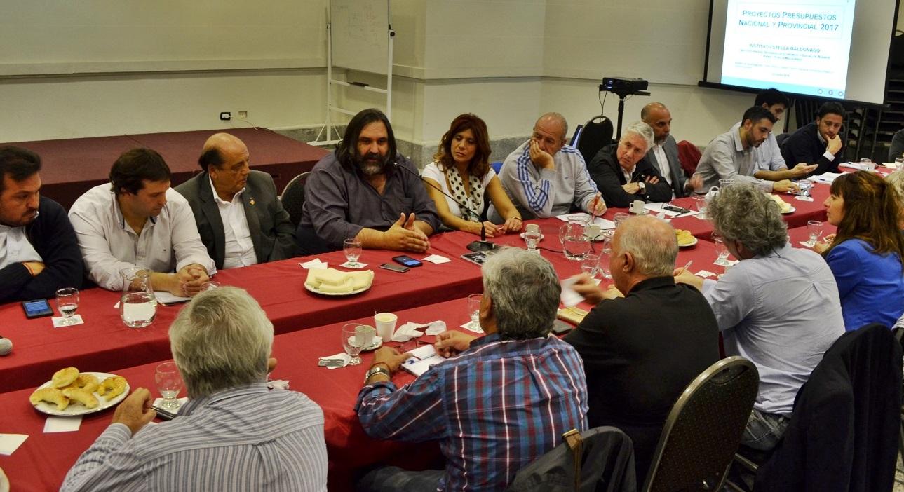 CTA y legisladores peronistas se reunieron para analizar el presupuesto provincial