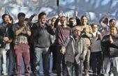 Larroque visitó San Martín con el FCL y convocó a la organización popular