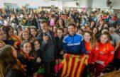 Massa le dio la Bienvenida al FR al medallista olímpico Juan Curuchet