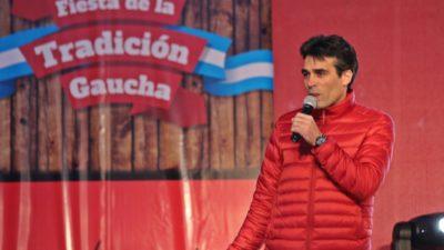Necochea / López inauguró ante una multitud la Fiesta de la Tradición Gaucha