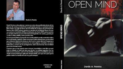 El escritor Dardo Pereira presenta su nuevo trabajo Open Maind