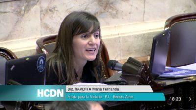 Raverta puso el audio de Lanata en la sesión y pidió a todos los partidos políticos que lo repudien