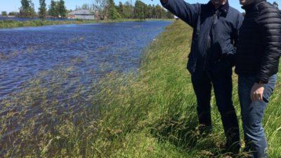 Vidal envío una tropa de funcionarios a las zonas inundadas del noroeste bonaerense