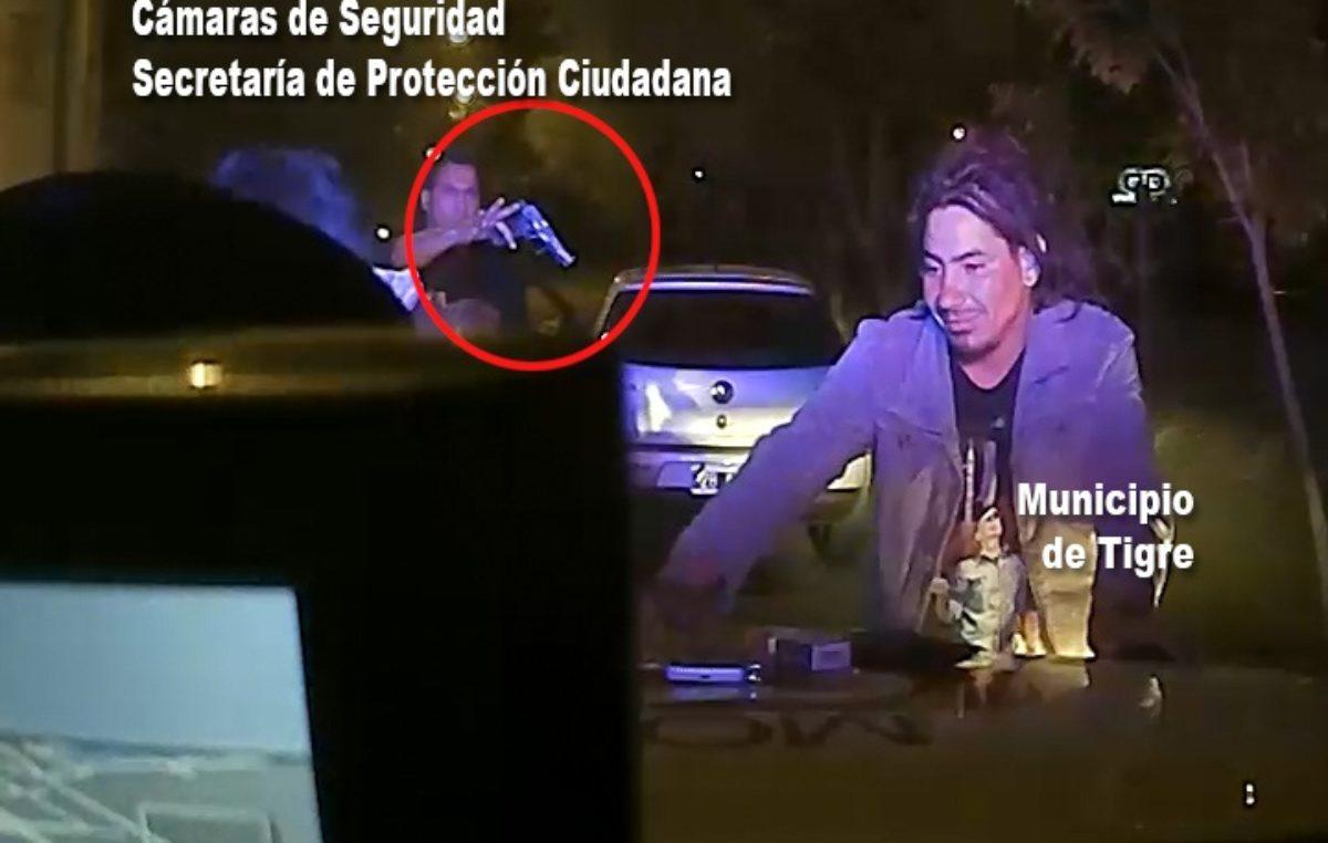 Tigre / Por un SMS Alerta Tigre logró atrapar a dos bandidos con armas y drogas
