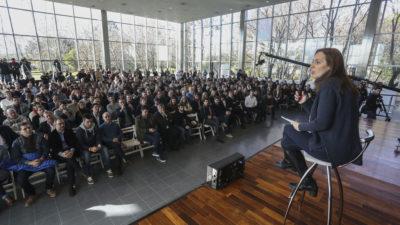 Vidal tiene listo el presupuesto bonaerense que mandará a la legislatura en los próximos días