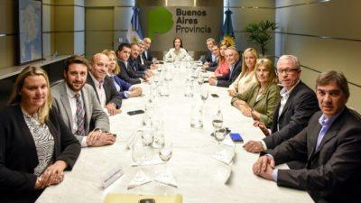 Vidal recibió a senadores de Cambiemos de cara a la  aprobación del presupuesto 2017