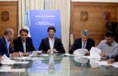 Azul / Bertellys firmó con García De Luca un convenio por 81 millones para obras