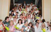 Carlos Casares / Torchio reconoció a las Enfermeras en su día