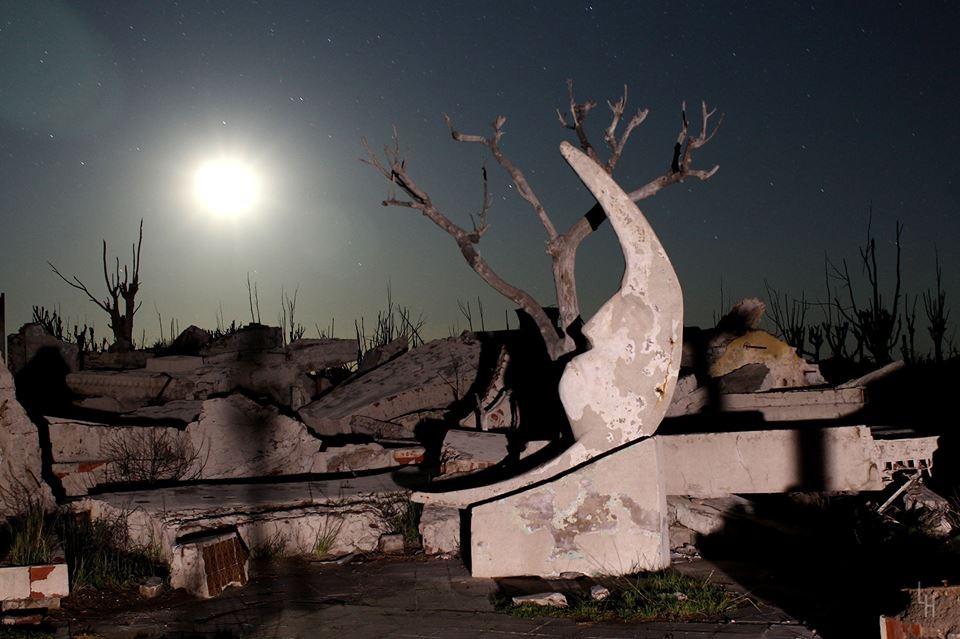 Filmarán una película de terror en las Ruinas de Epecuén