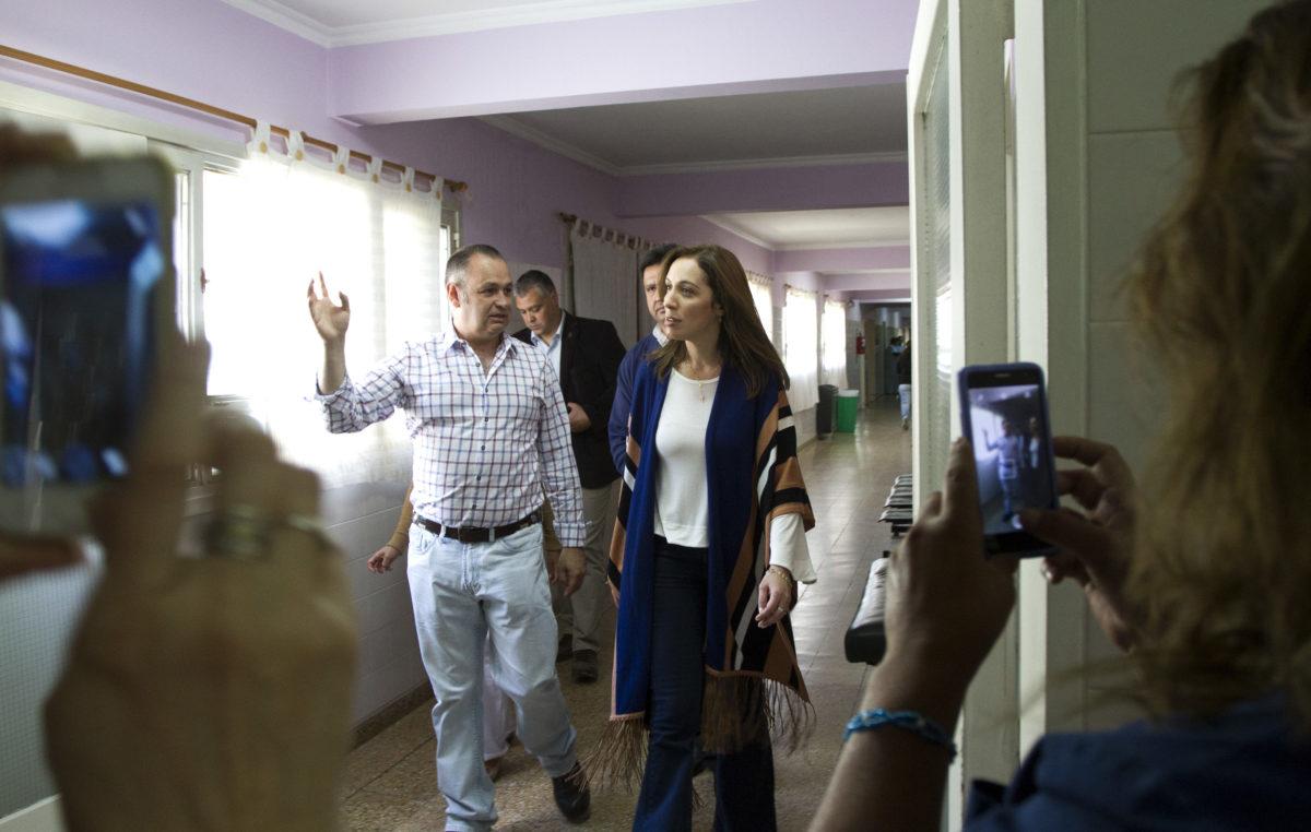 María Eugenia Vidal ya visitó 105 municipios este año