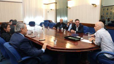 Pilar / Ducoté recibió al massista D´Onofrio y a concejales del FR para analizar puntos del presupuesto 2017
