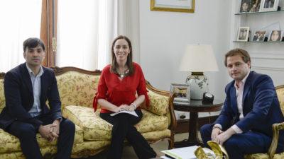 Vidal tras reunirse con Echarren, ya recibió a más de 100 intendentes en este año