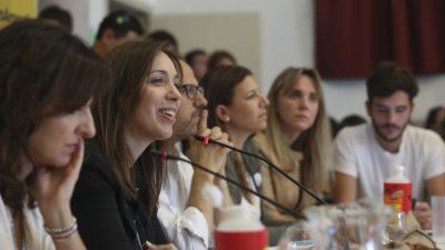 Vidal agradeció que hayan elegido la provincia para organizar el primer Consejo Nacional de Mujeres PRO