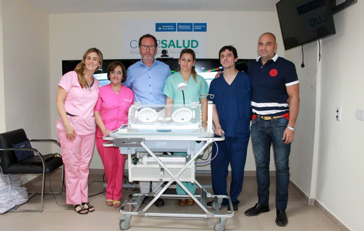 C. Casares / Torchio con eje en Salud compra nuevo equipamiento para el Hospital Municipal