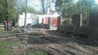 Gral Pinto / Guerrera despliega un plan de obras en el parque y la estación