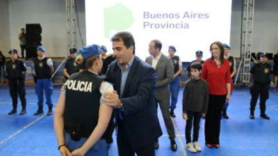 """Ritondo: """"El arribo de gendarmes a los municipios fomenta la recapacitación de lo policías"""""""