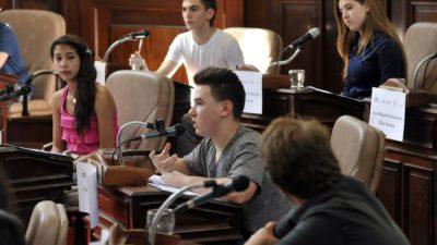 La Plata / Se realizó la Segunda Edición del Parlamento de la Juventud