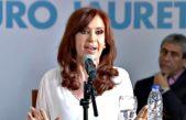 """En Florencio Varela, CFK habló de Trump y le pegó a Pichetto por decir una """"inmensa burrada"""""""